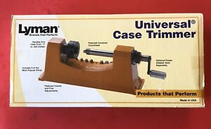 Lyman Universal Case Trimmer & 9 Pilots