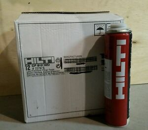 12 Cans Hilti Cf812wd Window And Door Foam New Stock Best Price On Ebay