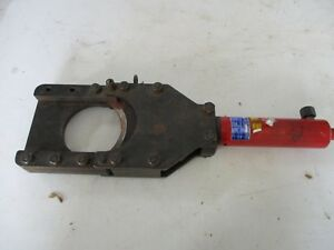 Used Izumi Model P100 Remote Hydraulic Cable Cutter 10 000psi Free Shipping