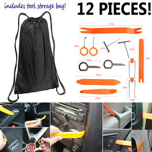 Universal Pry Removal Open Tools Kit Car Dash Door Trim Panel Clip Radio Lights