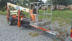 Jlg T350 Towable Articulating 35 Boom Lift Height Boom Lift Basket Rotate Opt