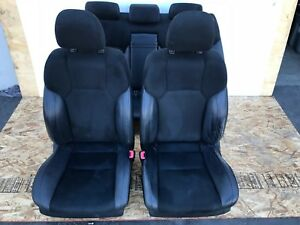 Lexus 06 13 Is Is250 Is350 F Sport Leather Suede Seats Set Complete Black 87 Oem