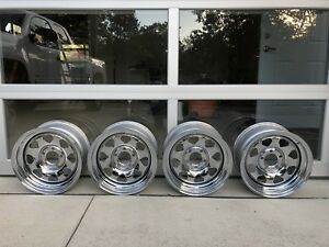 Rare Vintage Nos Ipd Rs Chrome Spoke Volvo Wheels