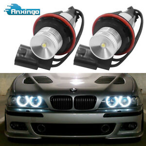7000k Led Angel Eye Marker Light Bulbs For Bmw E39 E60 E63 E64 E53 5 6 7 X3 X5 A