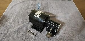 Bodine Nsh 34rh Electric Gear Motor 1 15 Hp 20 1 Ratio 86 Rpm 115 Volt 1 Phase