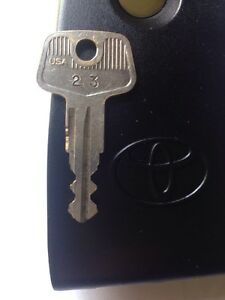 Toyota Rav4 Roof Rack Key 23