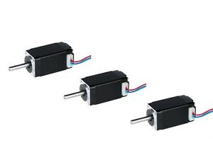 us Free 3pcs Nema 8 20bygh Stepper Motor 0 6a 4oz 4leads 8hs4406 Single Shaft