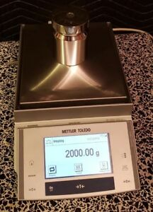 Mettler Toledo Xs2002s Balance D 0 01g Max 2100 00g Lab Scale Working Great