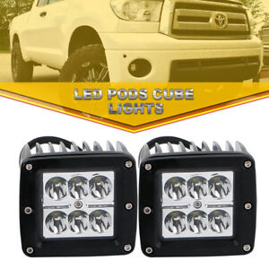2x 18w Led Work Light Backup Spot Driving Light Jeep Rear Bumper Led Fog Lights