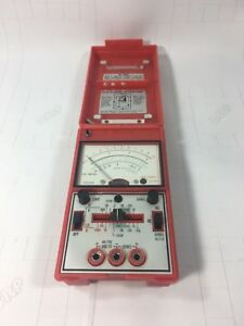 Vintage Hickok Tube Multimeter Tube Tester