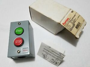 Furnas 50ca3df 2 Push Buttons Start Stop raised Duty Control Station 1no 1nc
