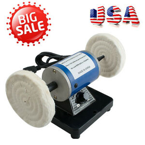 Mini Polisher Polishing Machine Dental Lab Lathe Buffing Tool Grinder Jewelry Us