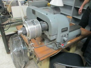 Hardinge Model Hsl 5c Speed Head polisher W pneumatic Collet Closer 3 Speeds