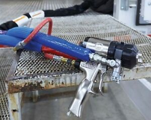 Graco Fusion Ap Gun Package Includes Heated Hose Flush System And Repair Kit