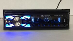 Radio For Ls Cab Tractor Am fm sd usb aux bt Soundstream With Plugs And Hardware