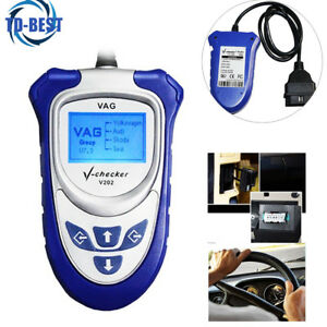 Vag Car Pro Code Reader V checker V202 Diagnose All Electronic Systems Vw Series