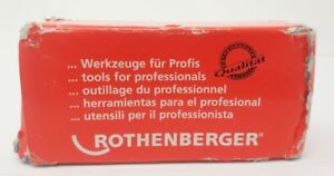Rothenberger 89101 Threading Dies 1 2 inch To 3 4 inch Npt Alloy