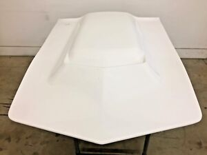 1977 1982 C3 Corvette L88 Design Hi Rise Hood Aci Fiberglass Made In Usa