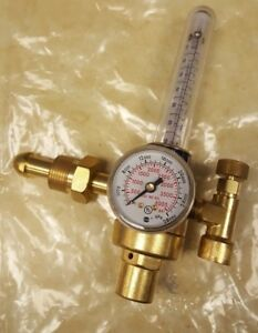 Harris Flow Meter Regulator Model 355 Cga E 4