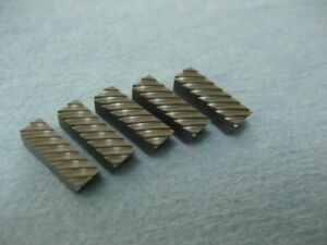 Valve Seat Cutting Serrated Blades 1 2 for New3acut And Neway Cutter Heads 5pack