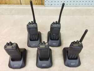 Kenwood Tk 290 Bundle Batteries Antennas Mics Chargers