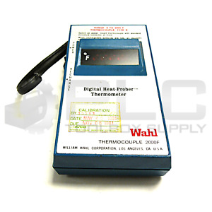 Wahl 2000f Digital Heat Prober Thermometer Type K