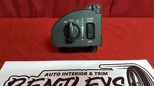 1999 2000 2001 Dodge Ram Headlight Dash Dimmer Switch Knob W O Fog Lights Oem