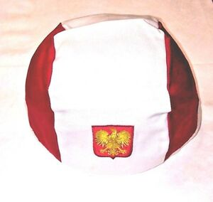 Polish Flag Medium Size Skull Cap Sold 12 Per Listing