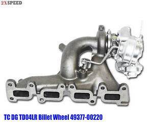 Billet Wheel Upgrade Turbo With Manifold Td04lr For Chrysler Pt Cruiser Gt 2 4l
