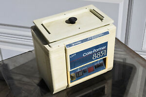 Cole Palmer 8851 Sonicator Cleaner Ultrasonic Lab Laboratory Parts working