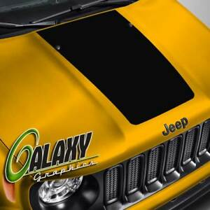 Hood Decal For Jeep Renegade Blackout Hood Sticker
