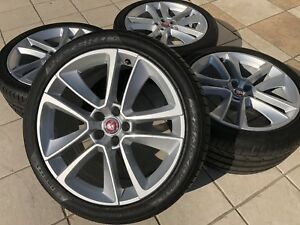 Al Most New Jaguar F Type 19 Inch Wheels And Pirelli Tires 19 Oem