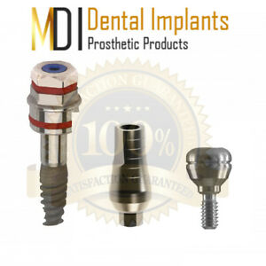 New 5 Mdi Spiral Dental Implant Internal hexagon 4 2x10 Kit 3 Pieces Supply