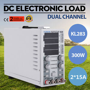New 110v Dual Channel Dc Electronic Load Overcurrent Protection Kl283 Charger Us