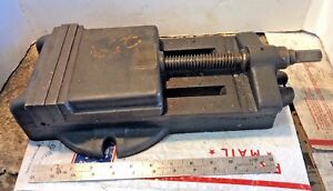 Vintage 6 Jaws Milling Vise Mill Vise Machinist Tool Machinist Free Ship