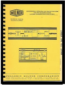 Milnor Commercial Washers Programming Manual For Ep10