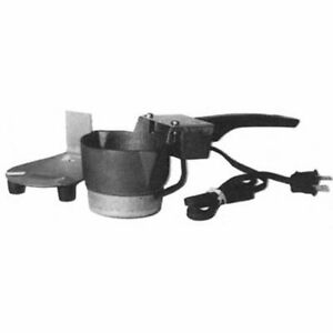 Lead Melting Pot Electric Anchor Strap Tackle Mold Ladle Pewter Decoy Jig Head