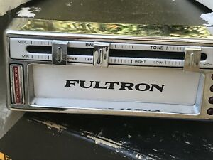 Nos Vintage 1970 s Fultron Under Dash 8 Track Stereo Ford Mopar Gm Jeep Truck