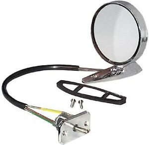 1965 1966 Mustang Lh Remote Control Outside Mirror Concourse Correct