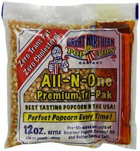 Popcorn 24 Pack All In One 12 Ounce Pop Certified Frustration Packaging Home New