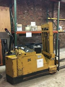 Electric Forklift walk Behind must Sell Only 1000 00