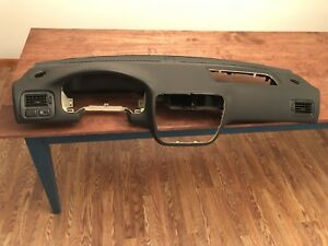 99 00 Honda Civic Si Em1 Oem Dashboard Dark Grey Gray 1999 2000 Ek Dash