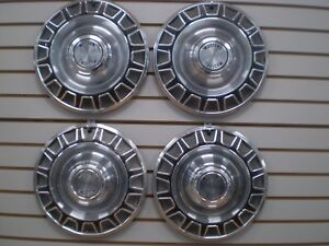 1970 Ford Mustang Wheelcover Wheel Covers Hubcaps Oem Set 70 685
