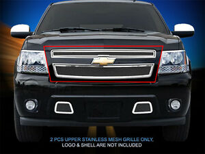Fedar Wire Mesh Grille Insert For 2007 2014 Chevy Avalanche Suburban Tahoe