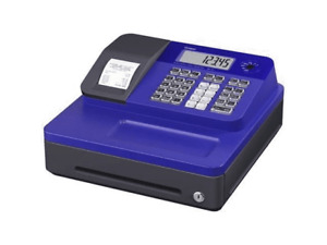 Casio Se g1sc bu Sg 1 Series Stylish Thermal Printing Cash Register In Blue