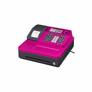 Casio Se g1sc pk Sg 1 Series Stylish Thermal Printing Cash Register In Pink