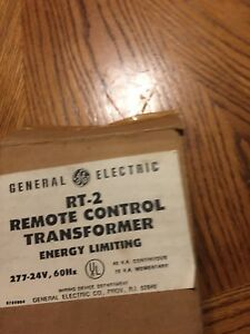 Ge Rt 2 Remote Control Transformer Energy Limiting 277 24v 60hz free Shipping