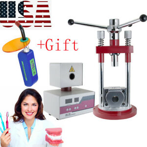 Dental Dentist Flexible Invisible Denture Injection System Machine Easy Use gift