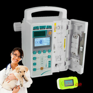 Vet Medical Syringe Pump Iv Fluid Infusion Audible Squirt Pump alarm From Usa