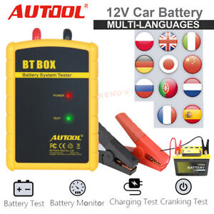 Autool Bt Box 12v Car Battery System Charging Bluetooth Tester For Android Ios